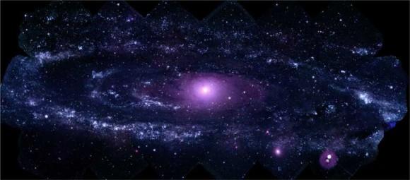M31 vu par Swift
