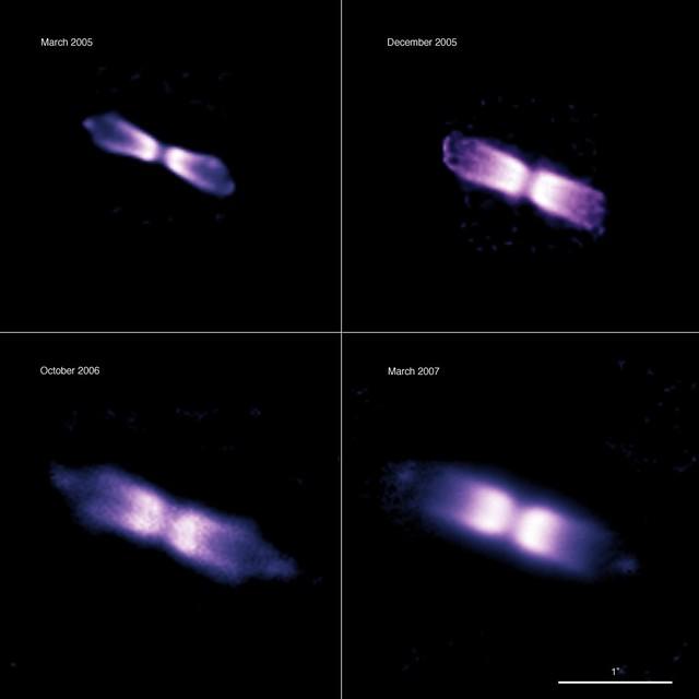 V445-puppis vu par l'ESO