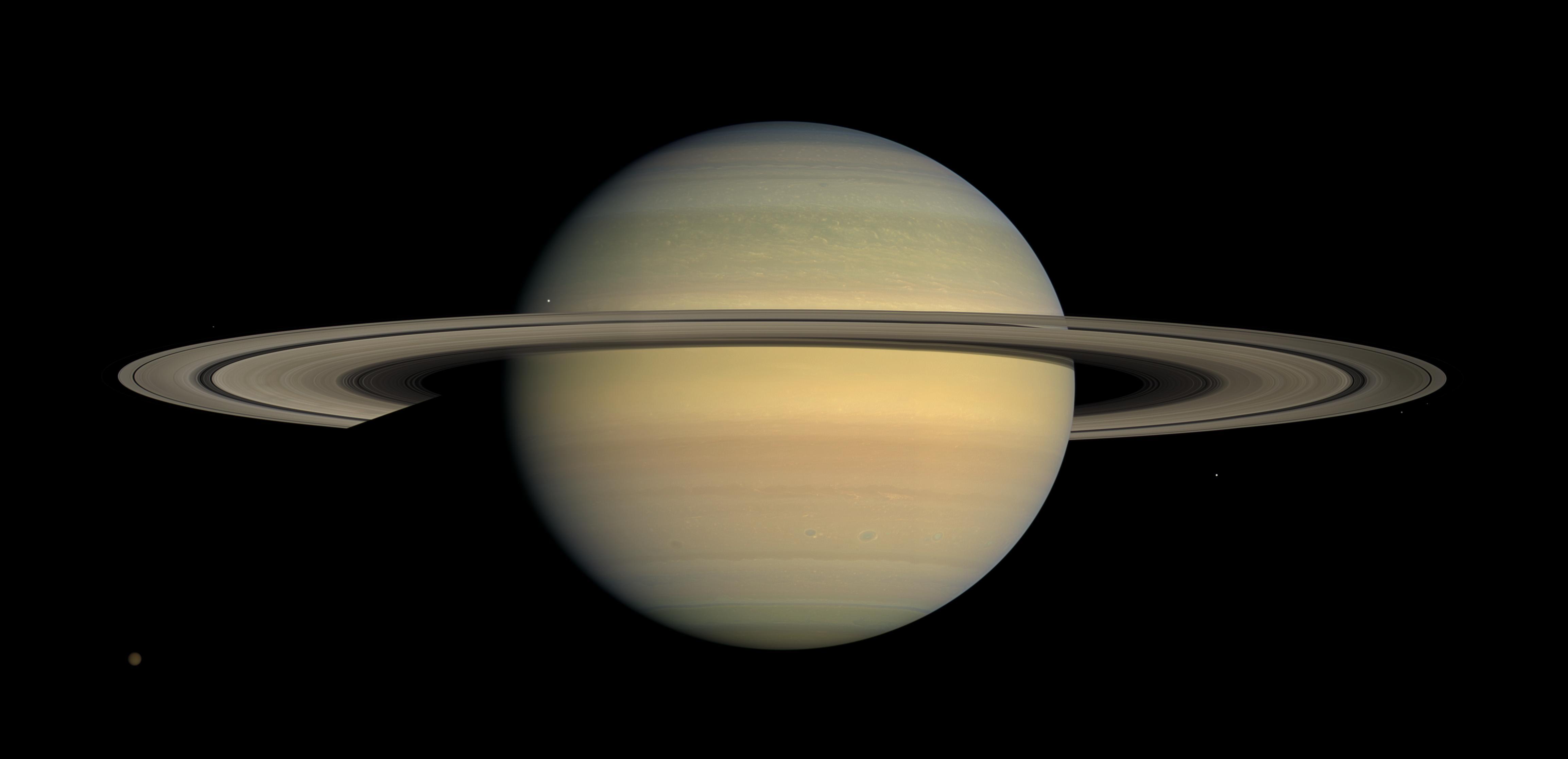 Saturne vu par Cassini