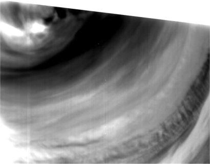 Nuages sur Vénus vu par Venus Express
