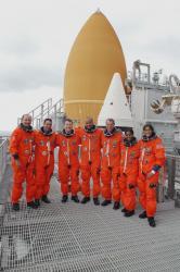 L'équipe de STS 116