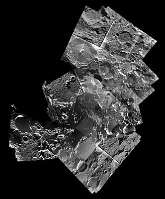 Pôle Nord de la Lune vu par SMART-1