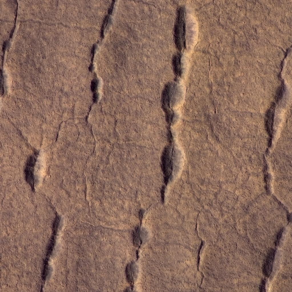 Surface de Mars vu par MRO