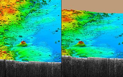 Medusae Fossae vue par Mars Express Orbiter