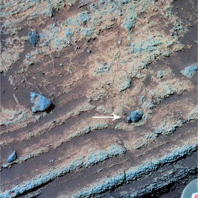 Textures granulaires sur Mars vu par Spirit