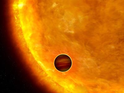 Planéte devant son Soleil, Impression artisitique