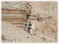 Un Astronaute sur Mars ?