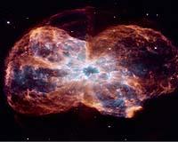Fin du vie d'une étoile vu par Hubble