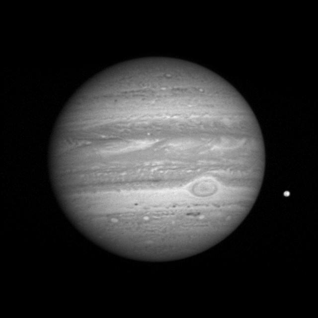 Jupiter et Io vu par New Horizons