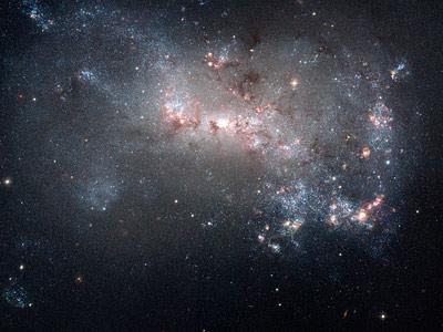 NGC 4449 vu par Hubble