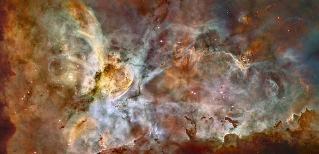 Nébuleuse de la Carene vu par Hubble