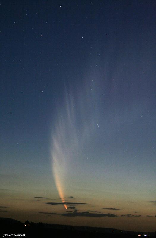 Comet McNaught par Noeleen Lowndes