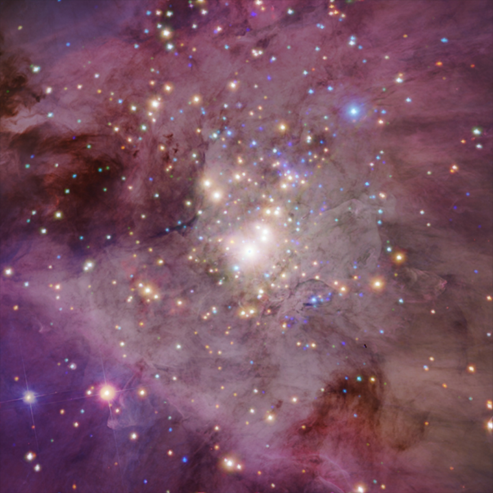 M42 vu par Hubble et Chandra