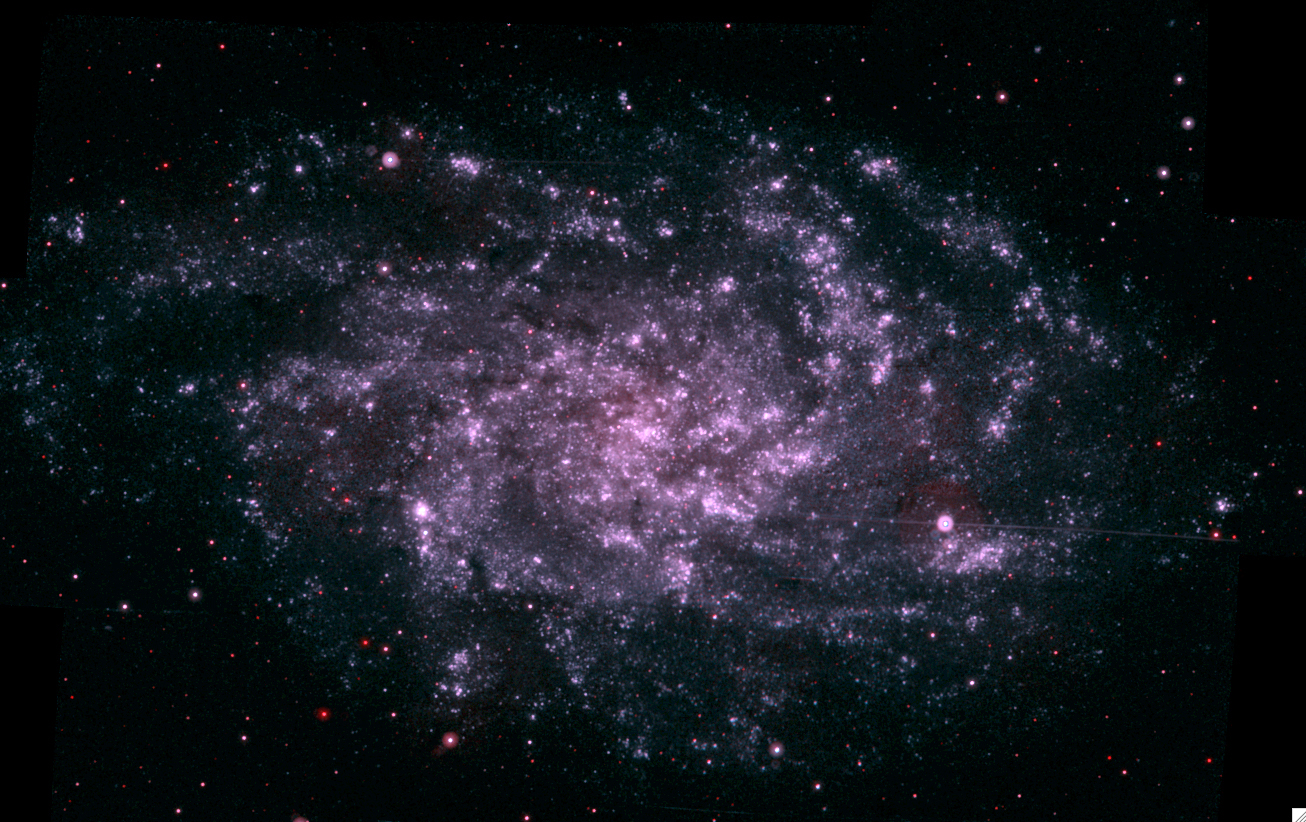 M33 vu par SWIFT