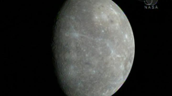 Mercure vu par MESSENGER