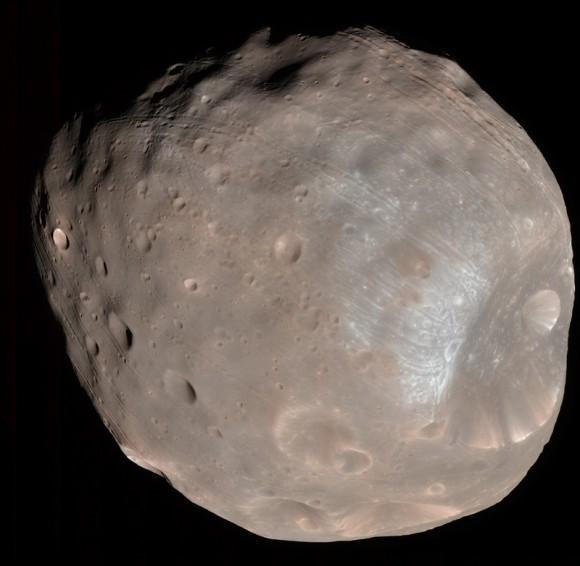 Phobos vu par MRO