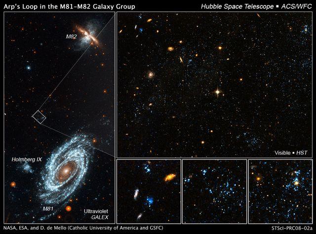 Gaz Bleu vu par Hubble