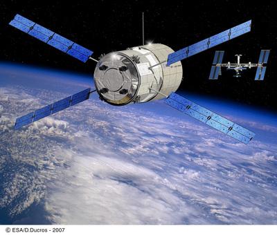 L'ATV, ravitailleur de l'ESA