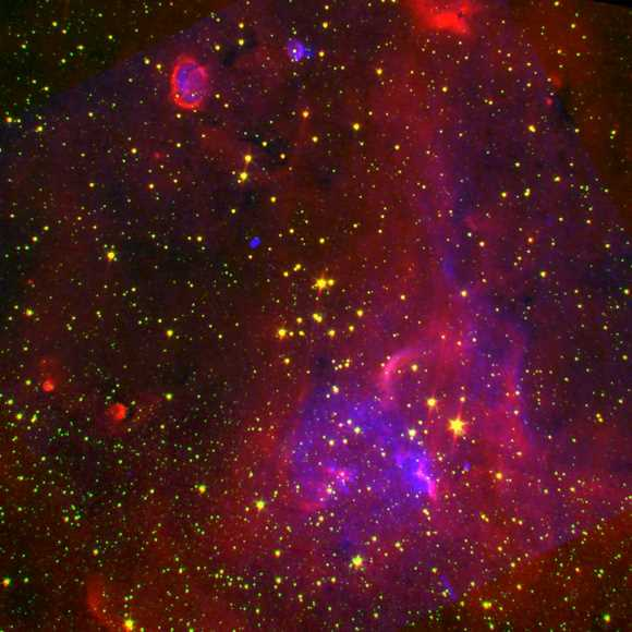 Red Supergiant Stars.  Image Credit Rochester Institute of Technology