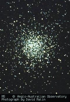 M5 vu par l'Anglo-Australian Observatory